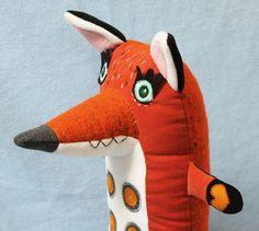 Jamie il grande volpe rossa tra cui un di StitchedCreatures