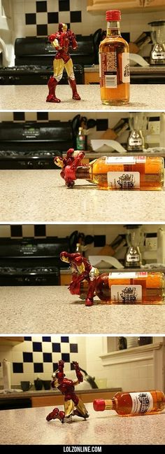 The Correct Way To Play With Your Iron Man Toys #lol