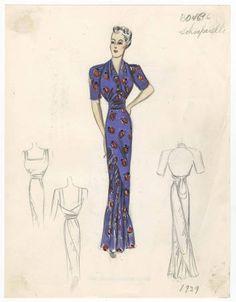 Bergdorf Goodman sketches : Schiaparelli 1931-1940 :: Costume Institute