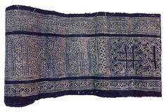 Handwoven   Batik Textile, 6.1 Yds on OneKingsLane.com