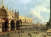 *Canaletto--St.Mark's Square, Venice--page 411