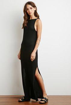 Cutout Back Maxi Dress | Forever 21 - 2000172952