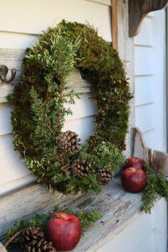 Front Door Christmas Decorations, Christmas Greenery, Outdoor Christmas, Christmas Wreaths, Holiday Decor, All Things Christmas, Christmas Holidays, Xmas, Christmas Fashion