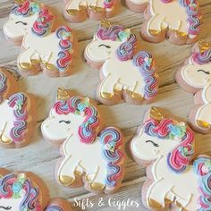 unicorn cookies.