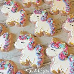 unicorn cookies.