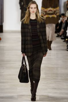 Ralph Lauren Fall 2016 Ready-to-Wear Fashion Show - Maartje Verhoef