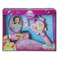 $15.99 Disney Princess Magical Bubble Wand (battery & bubbles included