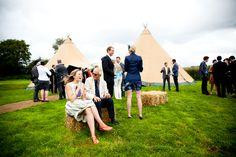 Tipi wedding marquee - Devon