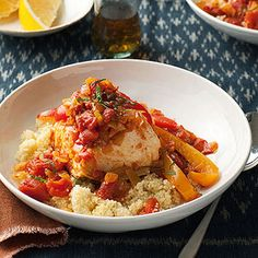 Mediterranean Diet Slow-Cooker Recipe: Moroccan Seafood Stew
