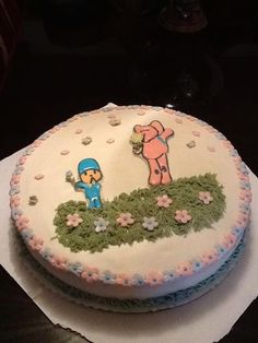 pastel pocoyo