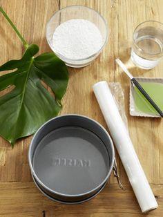 Mit dieser wunderschönen und ganz einfachen Tischdeko können Sie richtig glänzen. Was Sie für den Gipsteller brauchen? Wir verraten es Ihnen.
