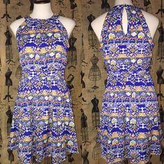 Tribal print dress Fun, playful dress - size runs slightly large Dresses Mini
