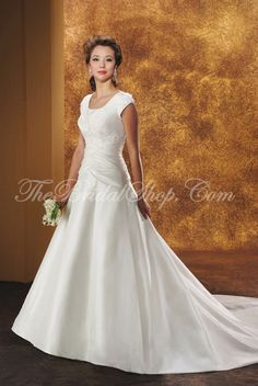 One of the many wedding dresses by Bliss (so far, my favorite designer for wedding dresses).