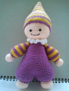 Puppe, Baby, Schmusepuppe , Amigurumi, Cuddly Baby,Doll by DianaCrochetToys on Etsy