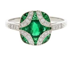 Image detail for -... Emerald Ring 19 (0.75 carat emerald) - find your perfect engagement