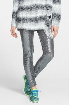 Pewter Sequin Leggings  http://rstyle.me/~196Sy