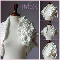 saquito a crochet ( NÚMERO 66 )