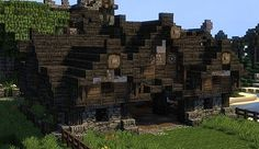 Medieval Stables Minecraft Project