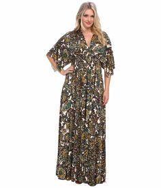 Rachel Pally WL Plus Size 1X Printed Long Caftan Dress White Label Eden Paisley Orig. $264 nwt. Part of the Rachel Pally White Label collection. Classic caftan silhouette.
