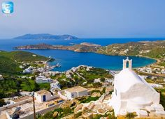 Greece Sifnos Greek Island Hopping, Greece Islands, Nature Plants, Ancient Greece, Beautiful Islands, Holiday Travel, Trips, Landscaping, Sea