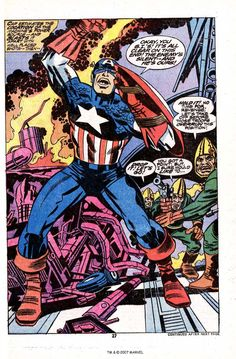 """Diversions of the Groovy Kind: Making a Splash: """"Madbomb""""--Jack Kirby's Return to Captain America and Marvel"""