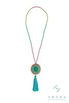 """""""ANANDA"""" Mandala Beaded Necklace an Ibiza Passion exclusive #Jewelry #Accessories #BohoChic"""