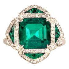 emerald rings vintage