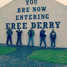 derry ireland, with celtic thunder, dreams come true. I'll be here within a few days! Republic Of Ireland, The Republic, Derry Ireland, Celtic Thunder, Emerald Isle, Trance, Northern Ireland, Places Ive Been, Irish