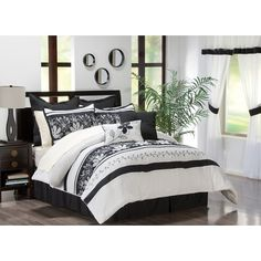 Amazing bedroom decor ideas in Black and White!