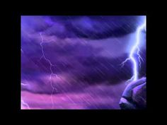 Rain and Thunder 10 Hours High Quality relax / sleep / write Relaxing Gif, Relaxing Music, Rainy Night, Rainy Days, Sound Of Rain, Rain Sounds, What Do You Hear, Rain And Thunder, Music For Studying