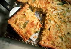 Super Light Quiche with Vegetables