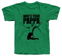 Who's your Pappa? Soccer Banquet, Mls Soccer, Professional Soccer, Soccer Gifts, Seattle Sounders, Major League Soccer, Clothing Co, Funny Tshirts, Mens Tops