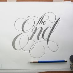 Handlettering Sketchbook 2 by Jason Vandenberg, via Behance
