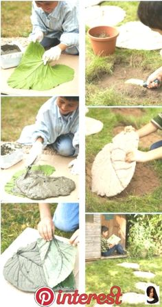 Diy Concrete Planters, Concrete Crafts, Concrete Garden, Cement Patio, Backyard Projects, Garden Projects, Diy Projects, Garden Ideas, Patio Ideas