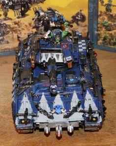 Deathskulls Looted Tank 1 by SpectorKnight on DeviantArt