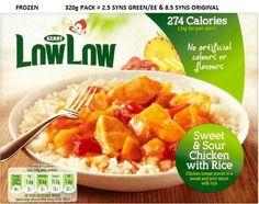 Low Low frozen foods