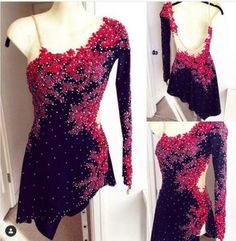 This bodice can be used for a variety of dance or skate routines! Just add the skirt that suits your competition style and you're ready to go! Custom Designed Tango Ice Dance Dress for Merriam ✨✨ Figure Skating Competition Dresses, Figure Skating Outfits, Figure Skating Costumes, Ice Dance Dresses, Ice Skating Dresses, Dance Outfits, Tango Dress, Country Dresses, Ballroom Dress
