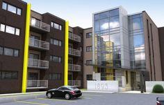 Nos Réalisations - Groupe Leclerc architecture + design Architecture Design, Multi Story Building, Architecture Layout, Architecture