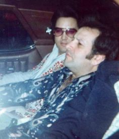 {*Elvis Riding with Joe Esposito RIP :( Heavily Peace Guys*}