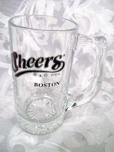 $9.99 CHEERS BOSTON BEER GLASS TANKARD MUG