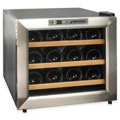 Silent Series 12 Bottle Single Zone Free-Standing Wine Refrigerator