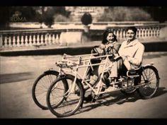 In bicicletta - Elaborazione fotografica in 3D
