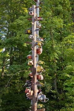 Chainsaw Totem Poles