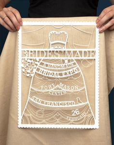 molly weber - Bridesmade, a fictional bridal expo focusing on handmade weddings. graphic-design-and-typography