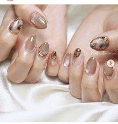 Mani Pedi, Manicure, Asian Nails, Japan Nail, Fall Gel Nails, Wedding Nails Design, Fire Nails, Minimalist Nails, Japanese Nails