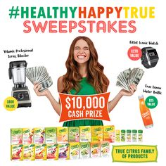 Help me win this amazing sweepstakes from @TrueLemon