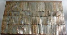 how to make roof shingles for doll's house - Google Search