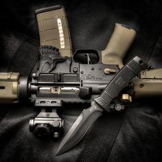 Rifle & Blade