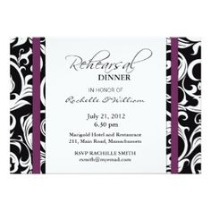 plum colored bridal shower invitations | Wedding Invitations