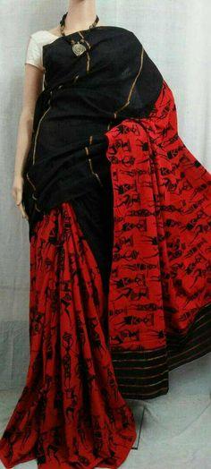 Pure handloom kesh cotton sarees